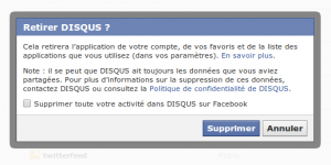 validation suppression application facebook