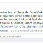 changer la couleur de facebook