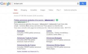 google le bon coin