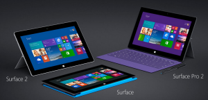 tablettes microsoft surface