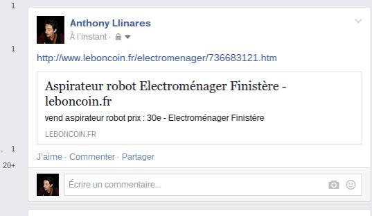 Mon Annonce Du Bon Coin Sur Facebook Dvi43com