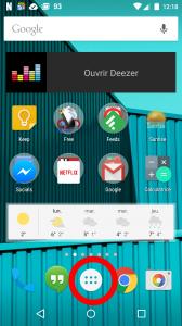 Android partage connexion wifi