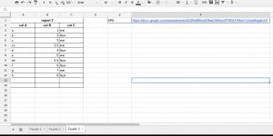 reporter cellules spreadsheet