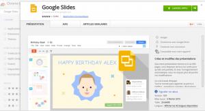 chrome google slide