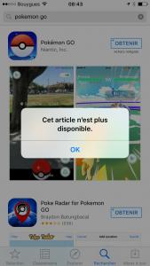 pokemon go ios france