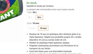 Amazon produits de première nécessité