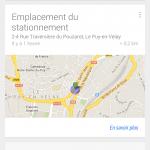 google now car